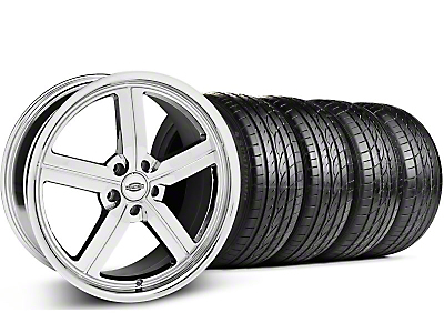 Staggered Chrome Huntington Bolsa Wheel & Sumitomo Tire Kit - 20x9/10 (05-14 GT, V6)