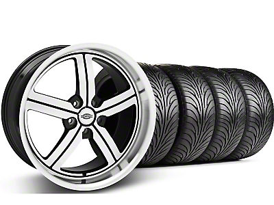 Staggered Machined Huntington Bolsa Wheel & Sumitomo Tire Kit - 18x9/10 (05-14 GT, V6)