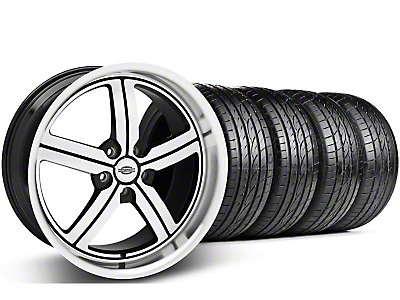 Machined Huntington Bolsa Wheel & Sumitomo Tire Kit - 20x9 (05-14 GT, V6)