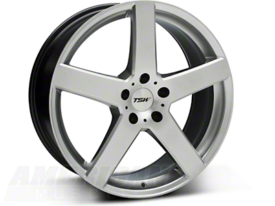 Hyper Silver TSW Rivage Wheel - 19x8 (05-14 All)