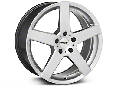 Hyper Silver TSW Rivage Wheel - 18x8 (05-14 All)