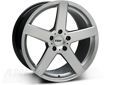 TSW Rivage Hyper Silver Wheel - 18x9.5 (05-14 All)