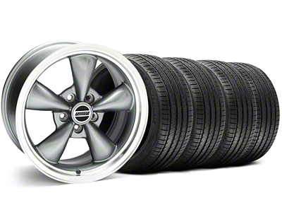 Bullitt Anthracite Wheel & Sumitomo Tire Kit - 18x8 (99-04 All)