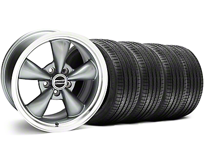 Anthracite Bullitt Wheel & Sumitomo Tire Kit - 18x8 (99-04 All)