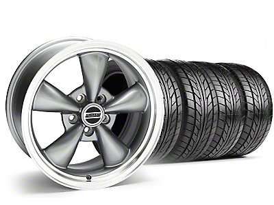 Anthracite Bullitt Wheel & Nitto Tire Kit - 18x8 (99-04 All)