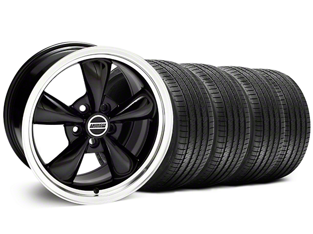 Bullitt Black Wheel & Sumitomo Tire Kit - 18x8 (94-98 All)