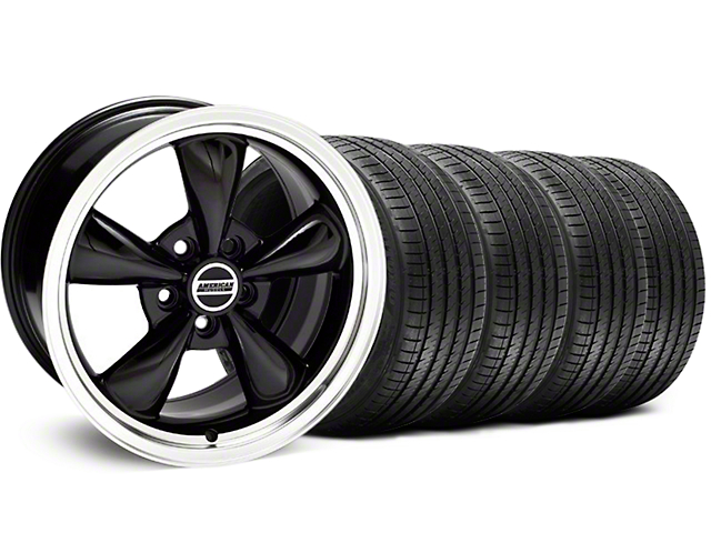 Bullitt Black Wheel & Sumitomo Tire Kit - 18x8 (99-04 All)