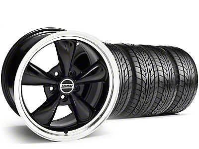 Black Bullitt Wheel & Nitto Tire Kit - 18x8 (99-04 All)