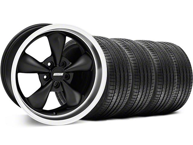 Bullitt Matte Black Wheel & Sumitomo Tire Kit - 18x8 (99-04 All)