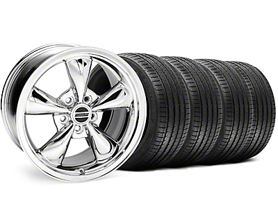 Chrome Bullitt Wheel & Sumitomo Tire Kit - 18x8 (99-04 All)