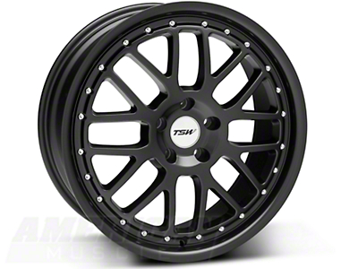 Matte Black TSW Valencia Wheel - 19x8 (05-14 All)