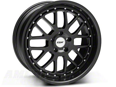 Matte Black TSW Valencia Wheel - 19x9.5 (05-14 All)