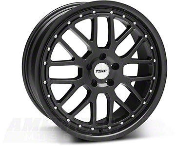 TSW Valencia Matte Black Wheel - 20x8.5 (05-14 All)