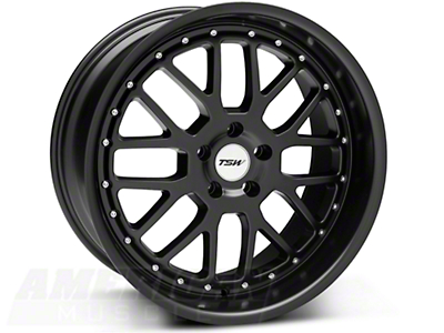 Matte Black TSW Valencia Wheel - 20x10 (05-14 All)