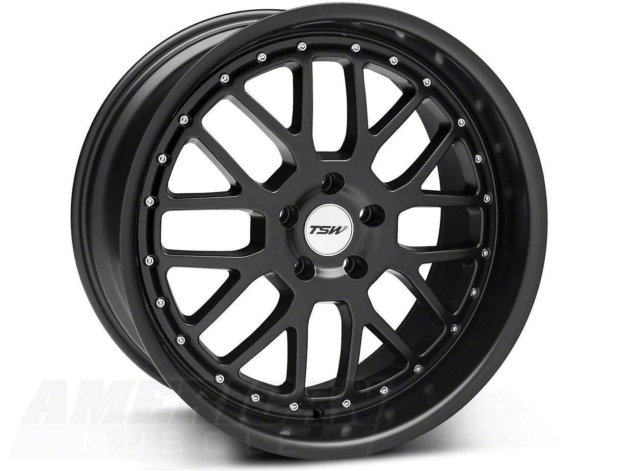 TSW Valencia Matte Black Wheel - 20x10 (05-14 All)