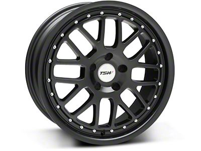 TSW Valencia Matte Black Wheel - 18x8 (94-04 All)