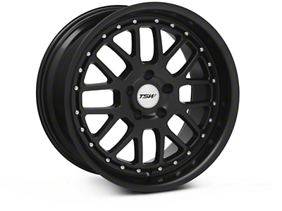 Matte Black TSW Valencia Wheel - 18x9.5 (94-04 All)