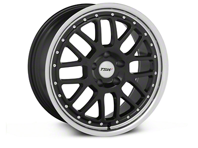 Black TSW Valencia Wheel - 18x8 (94-04 All)
