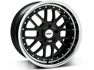 Black TSW Valencia Wheel - 18x9.5 (94-04 All)