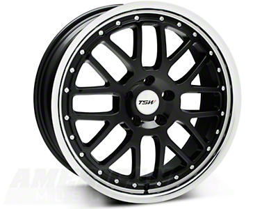 Black TSW Valencia Wheel - 19x8 (05-14 All)