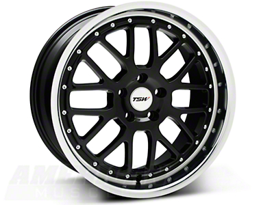 Black TSW Valencia Wheel - 19x9.5 (05-14 All)