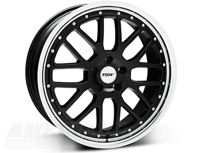 TSW Valencia Black Wheel - 20x8.5 (05-14 All)