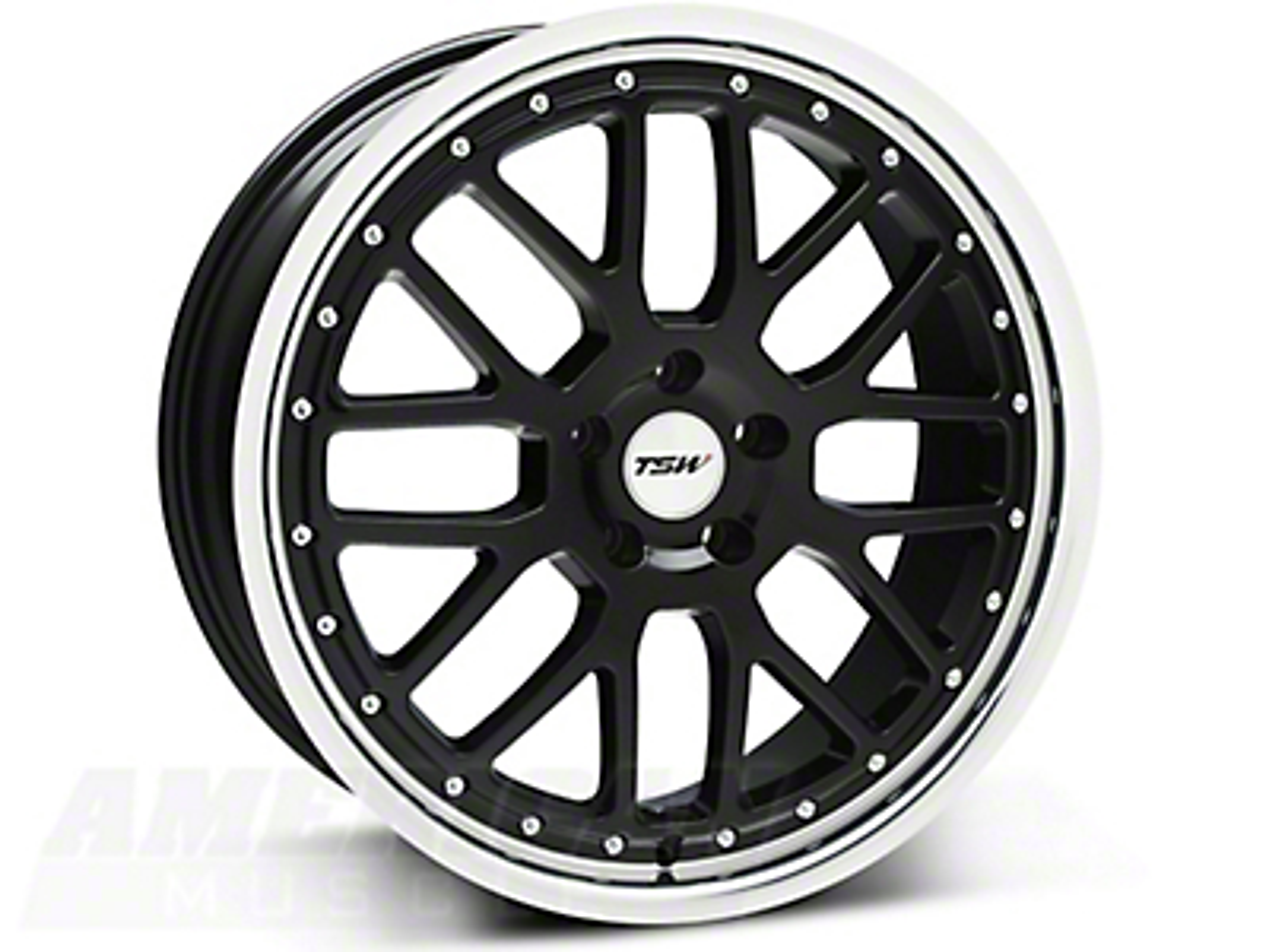 TSW Valencia Black Wheel - 20x8.5 (05-14 All)