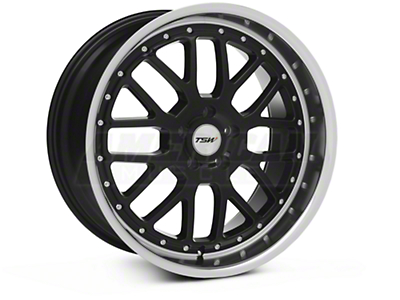 TSW Valencia Black Wheel - 20x10 (05-14 All)