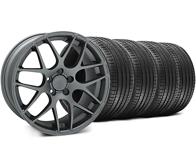Charcoal AMR Wheel & Sumitomo Tire Kit - 18x8 (94-98 All)