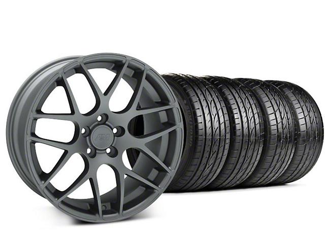 AMR Charcoal Wheel & Sumitomo Tire Kit - 19x8.5 (99-04 All)