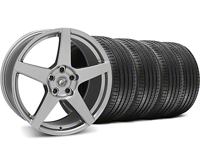 Forgestar CF5 Gunmetal Wheel & Sumitomo Tire Kit - 18x9 (05-14 All)