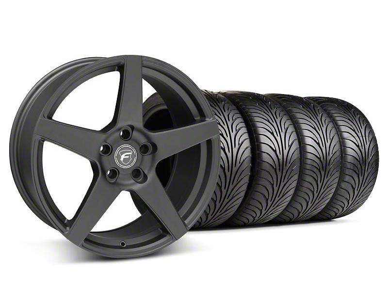 Forgestar CF5 Matte Black Wheel & Sumitomo Tire Kit - 18x9 (05-14 All)