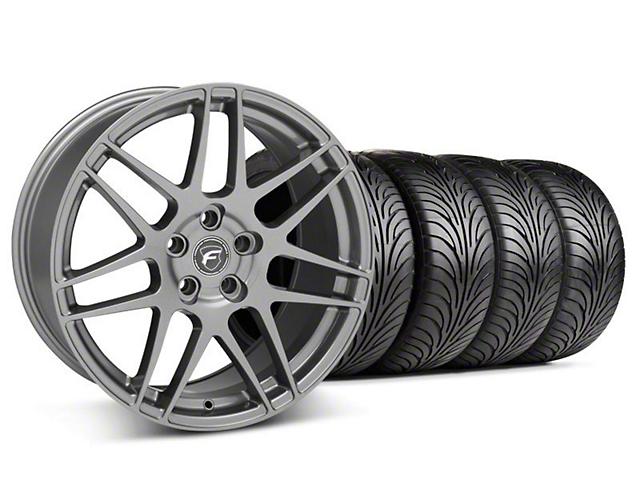 Forgestar F14 Monoblock Gunmetal Wheel & Sumitomo Tire Kit - 18x9 (05-14 All)