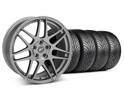 Forgestar Staggered F14 Gunmetal Wheel & Sumitomo Tire Kit - 18x9/10 (05-14 All)