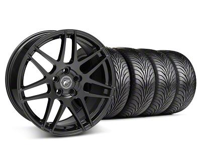 Forgestar F14 Monoblock Matte Black Wheel & Sumitomo Tire Kit - 18x9 (05-14 All)