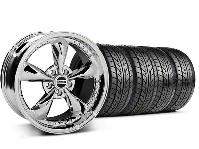 Bullitt Motorsport Chrome Wheel & NITTO Tire Kit - 18x9 (99-04 All)