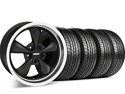 Bullitt Matte Black Wheel & Sumitomo Tire Kit - 17x8 (05-14 GT, V6)