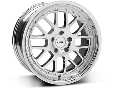 Chrome TSW Valencia Wheel - 18x9.5 (94-04 All)