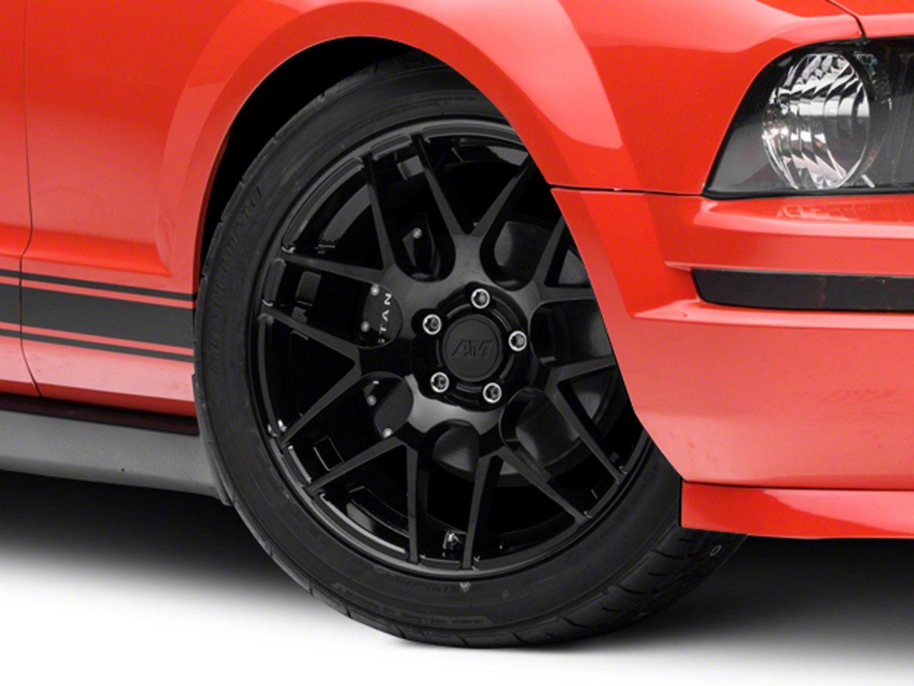 Add AMR Black Wheel - 19x8.5