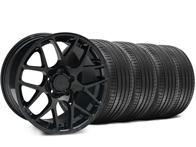 AMR Black Wheel & Sumitomo Tire Kit - 18x9 (05-14 All)