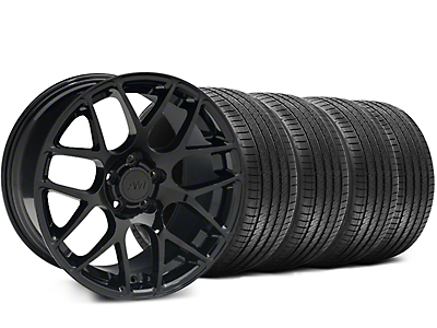 Black AMR Wheel & Sumitomo Tire Kit - 18x9 (05-14 All)