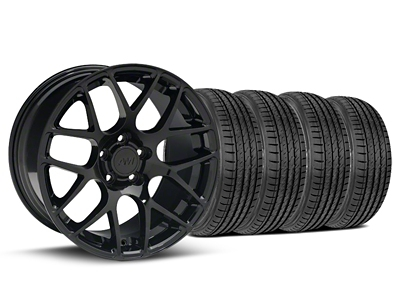 AMR Black Wheel & Sumitomo Tire Kit - 19x8.5 (05-14 All)