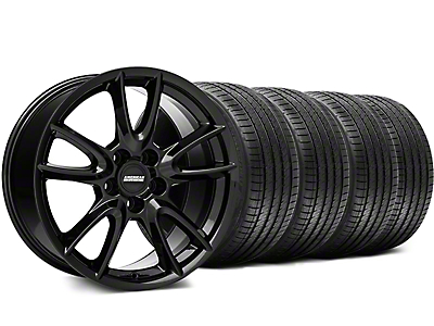 Track Pack Style Gloss Black Wheel & Sumitomo Tire Kit - 18x9 (94-98 All)