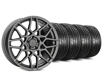 2013 GT500 Charcoal Wheel & Mickey Thompson Tire Kit - 20x8.5 (05-14 GT, V6)