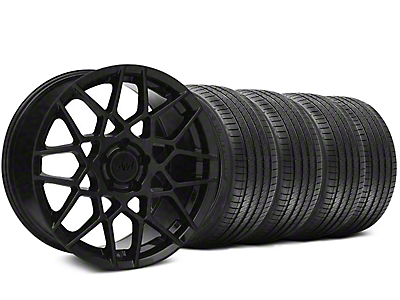 2013 GT500 Gloss Black Wheel & Sumitomo Tire Kit - 20x8.5 (05-14 GT, V6)
