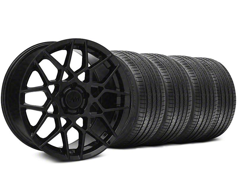2013 GT500 Style Gloss Black Wheel & Sumitomo Tire Kit - 20x8.5 (05-14 GT, V6)