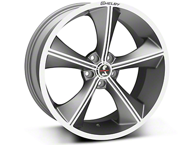 Gunmetal Shelby CS70 Wheel - 20x9 (05-14 All)