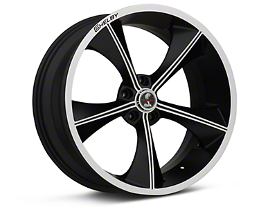 Matte Black Shelby CS70 Wheel - 20x9 (05-14 All)