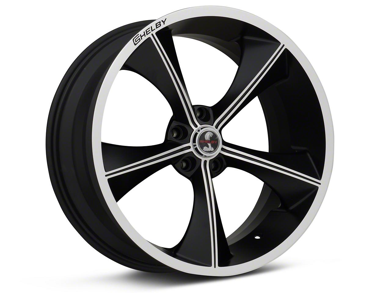 Shelby CS70 Matte Black Wheel - 20x9 (05-14 All)