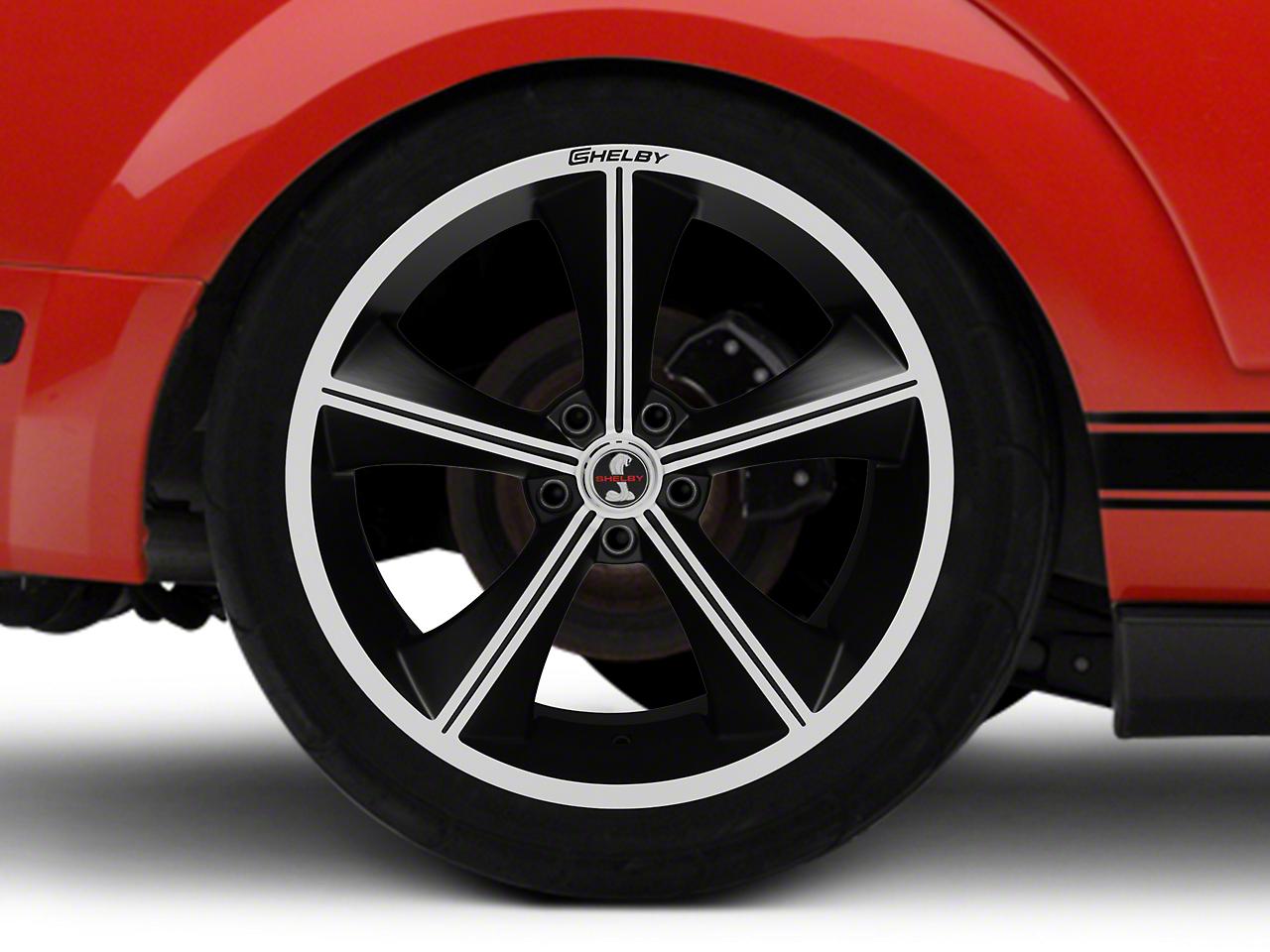 Shelby CS70 Matte Black Wheel - 20x10 (05-14 All)